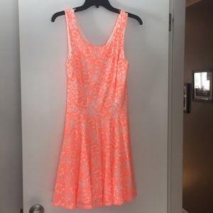 Guess cutout lace dress